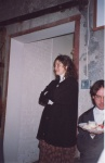 Tom's wife Harriet, in 1993, at a benefit for Albany's Actors Shakespeare Company.