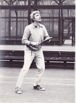 Tom plays tennis 1976